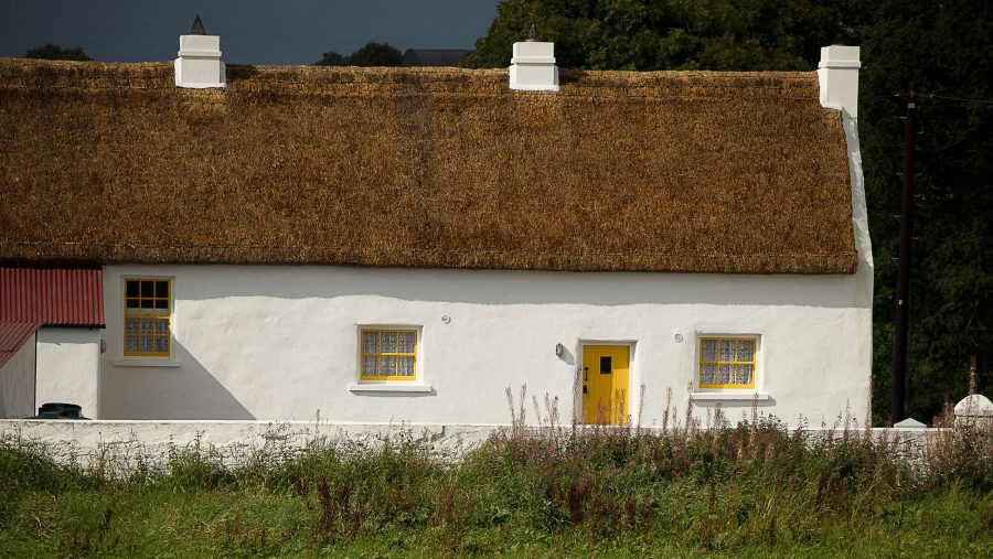 01 Patrick Bradley Architects Listed Building Architecture Conservation Restoration Heritage Renovation Thatch Cottage Deerpark Vernacular Irish Clachan Old New Grade B2 5