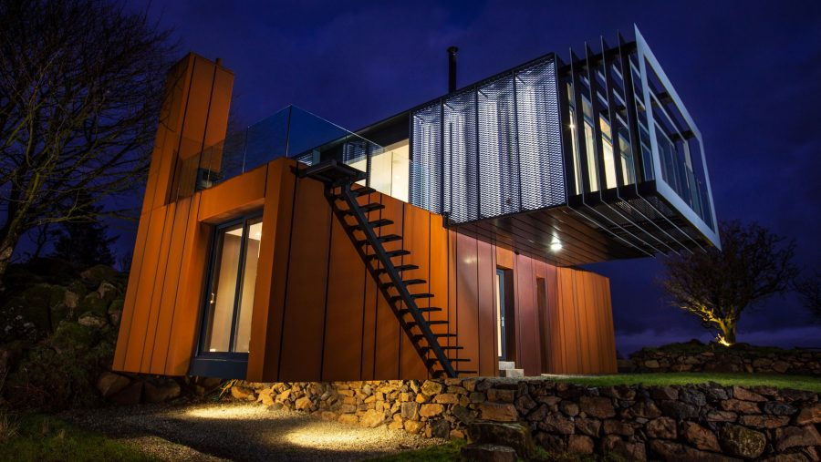 Patrick Bradley Architects Shipping Container Architecture Grand Designs Rural Bespoke Northern Ireland Vernacular Dwelling On A Farm RIBA Award Winning Grillagh Water 19