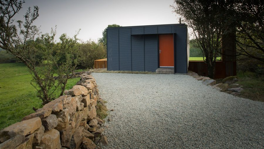 Patrick Bradley Architects Shipping Container Architecture Grand Designs Rural Bespoke Northern Ireland Vernacular Dwelling On A Farm RIBA Award Winning Grillagh Water 5