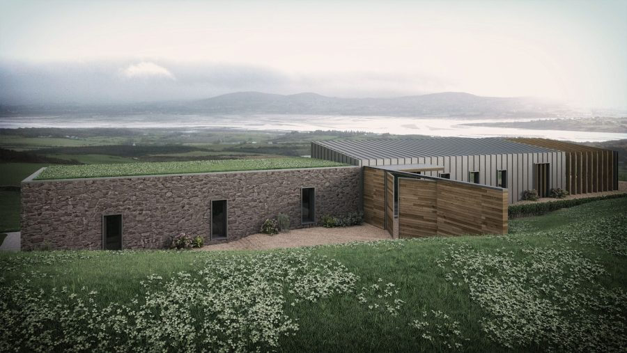 Patrick Bradley Architects Malin House Modern Corrugated Tin Rural Donegal Barn Inside Outside Spaces Vernacular Stone Glazing Contemporary Cool Northern Ireland Irish 3
