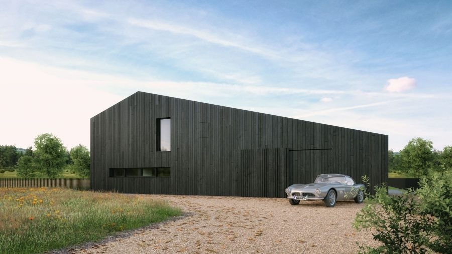 Patrick Bradley Architects Peatlands House Modern Burnt Timber Rural Mayo Barn Inside Outside Spaces Vernacular Glazing Contemporary Cool Replacement Dwelling 1
