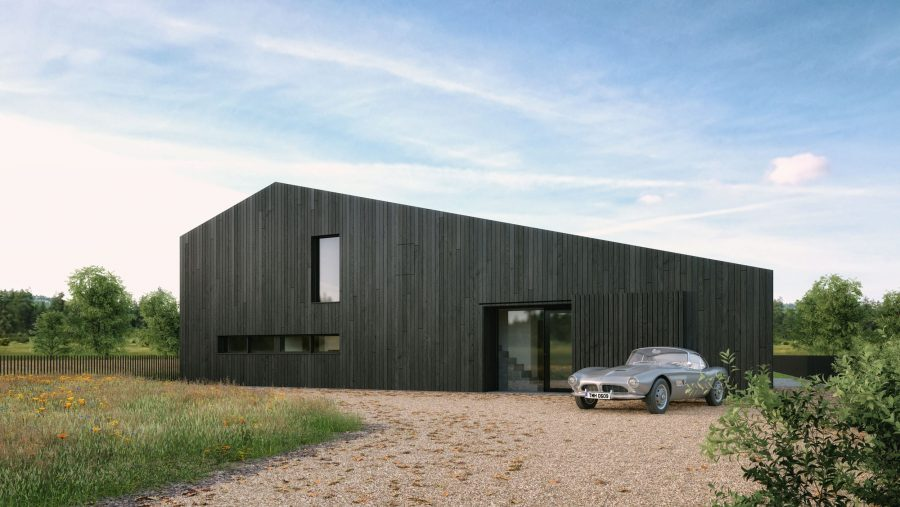 Patrick Bradley Architects Peatlands House Modern Burnt Timber Rural Mayo Barn Inside Outside Spaces Vernacular Glazing Contemporary Cool Replacement Dwelling 2 TNI